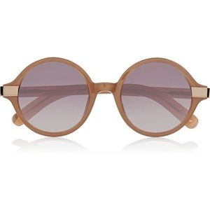 Elizabeth and James Wooster Blush Sunglasses